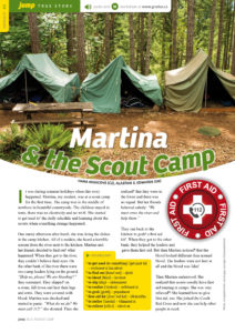 Martina and Scout Camp