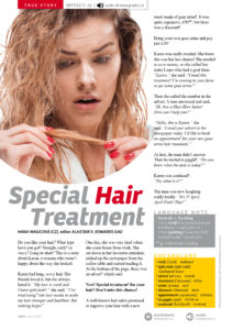 Special Hair Treatment, pdf