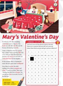 Valentine Wordsearch